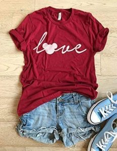 Mickey Mouse Love T-Shirt